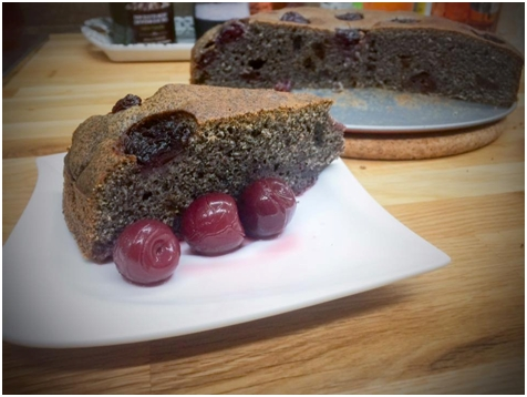 Špadlovo-makový koláčik